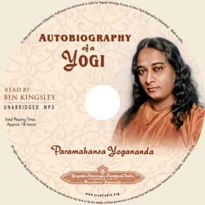 Autobiography of a Yogi Audiobook in MP3 CD