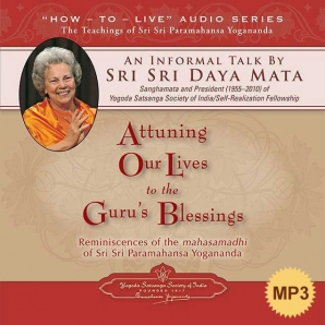 Attuning Our Lives to the Guru's Blessings-MP3
