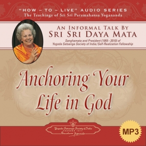 Anchoring Your Life in God-MP3