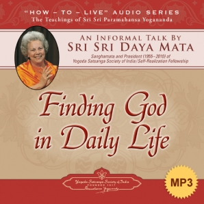 Finding God in Daily Life - MP3