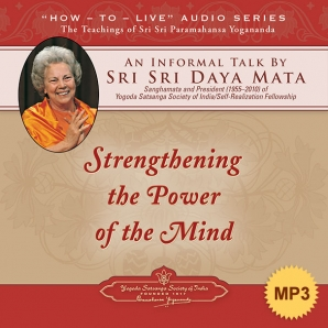 Strengthening the Power of the Mind - MP3
