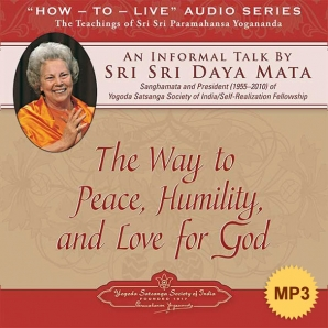 The Way to Peace, Humility, and Love for God - MP3