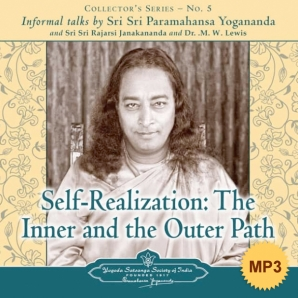 Self-Realization: The Inner and the Outer Path - MP3